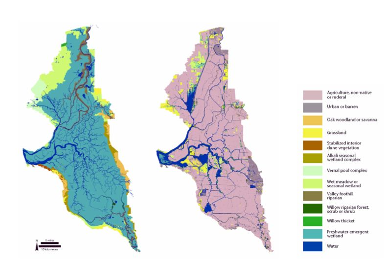 California Delta Islands Map