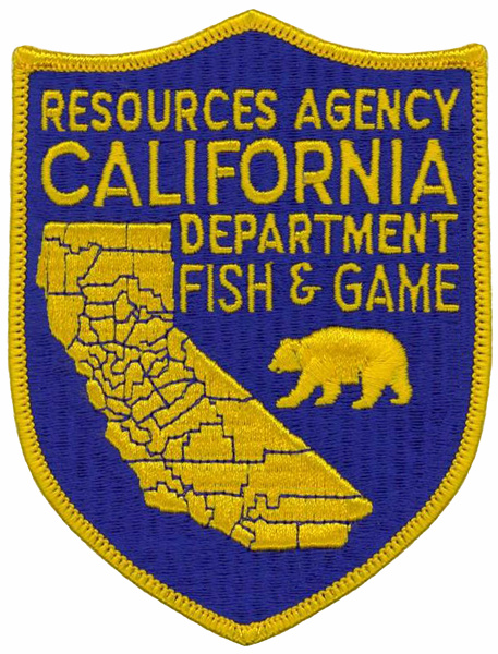 California dept of fish and game licenses for Fish and game licence