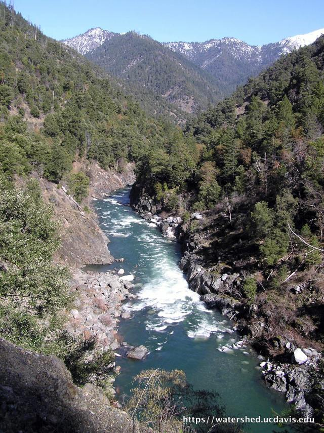 The Klamath River basin is one of the country's most biological diverse regions. Source: Rebecca M. Quiñones, 2008
