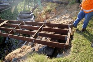 boat dock ramp