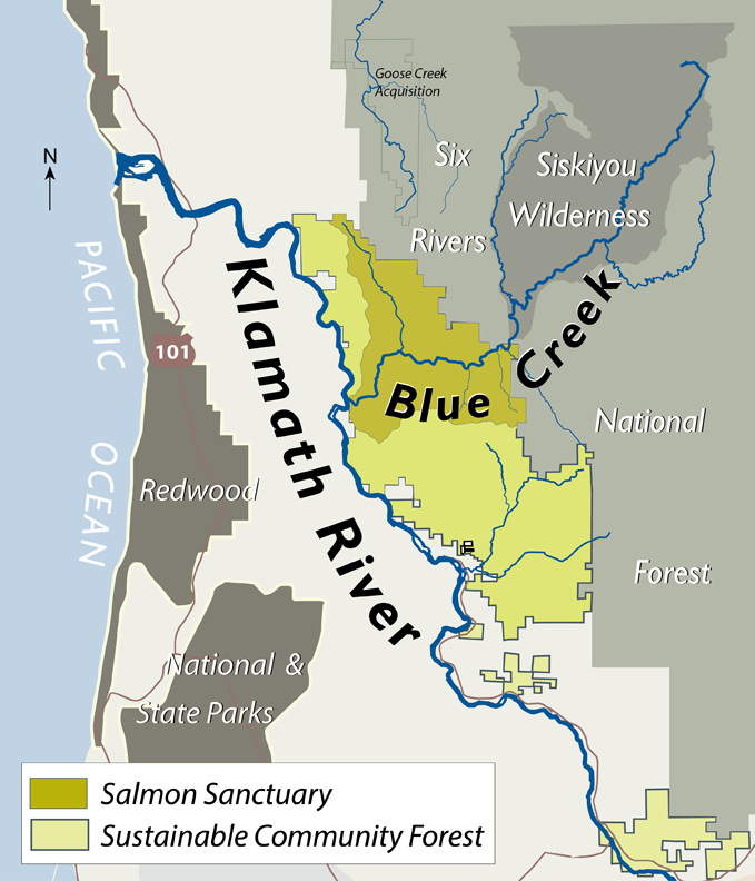 Yurok Stewardship Of Klamaths Blue Creek Bodes Well For
