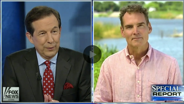 Fox News anchor Chris Wallace questions correspondent William La Jeunesse on the fight over the delta smelt amid the California drought. The national story aired April 30. Click on image to view story.