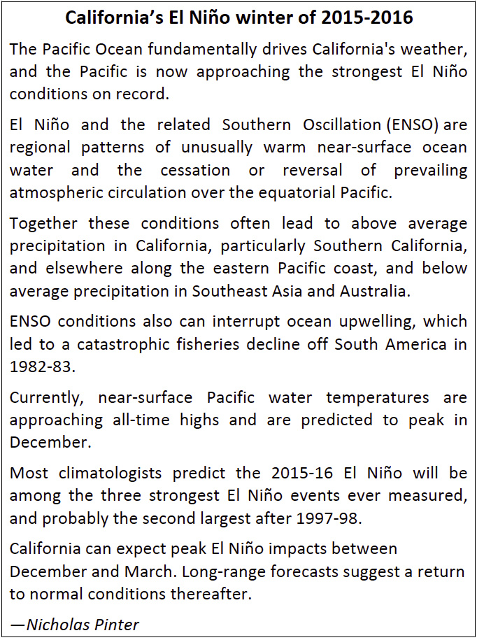Rising to El Ni os challenges and opportunities – El Nino Worksheet