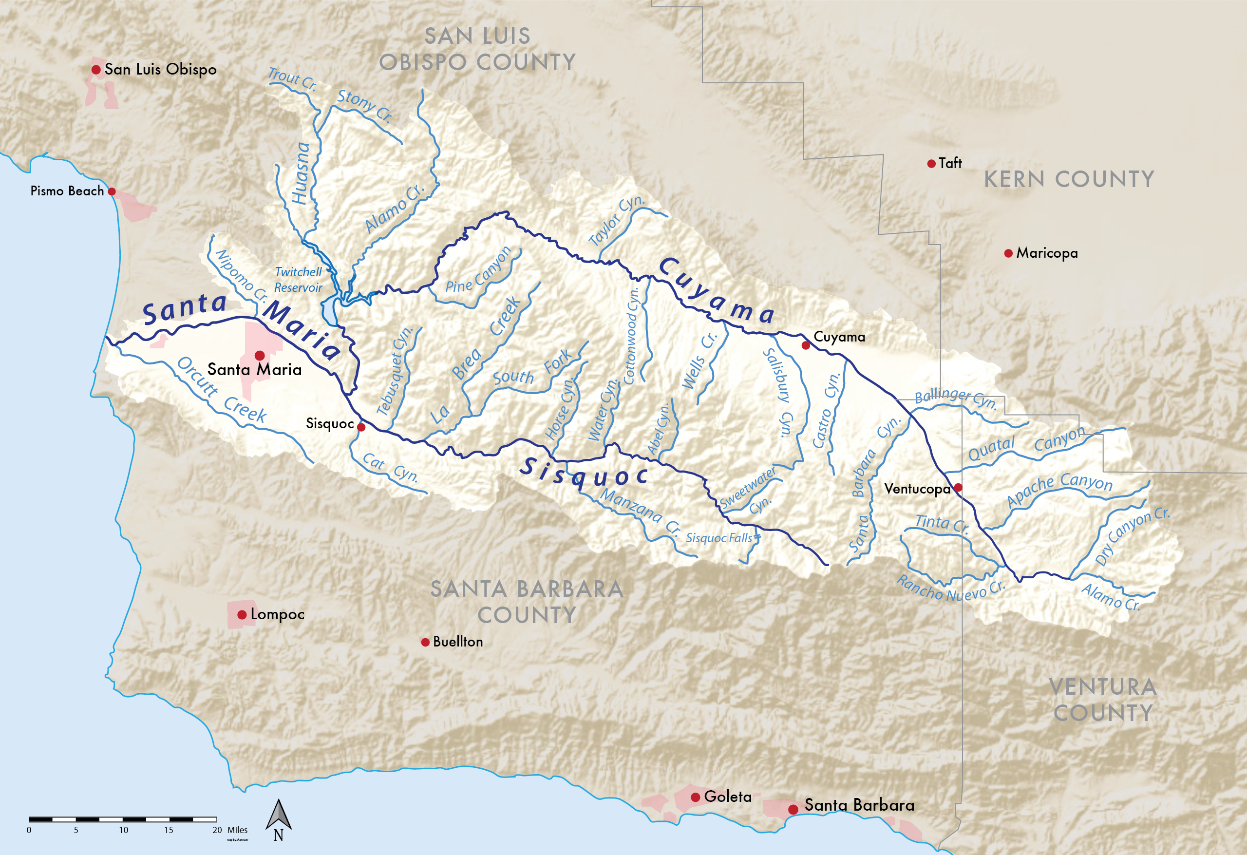 fish, flows, and 5937 – legal challenges on the santa maria river