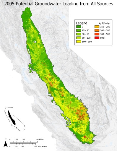 Groundwater Nitrate Sources and Contamination in the Central Valley ...