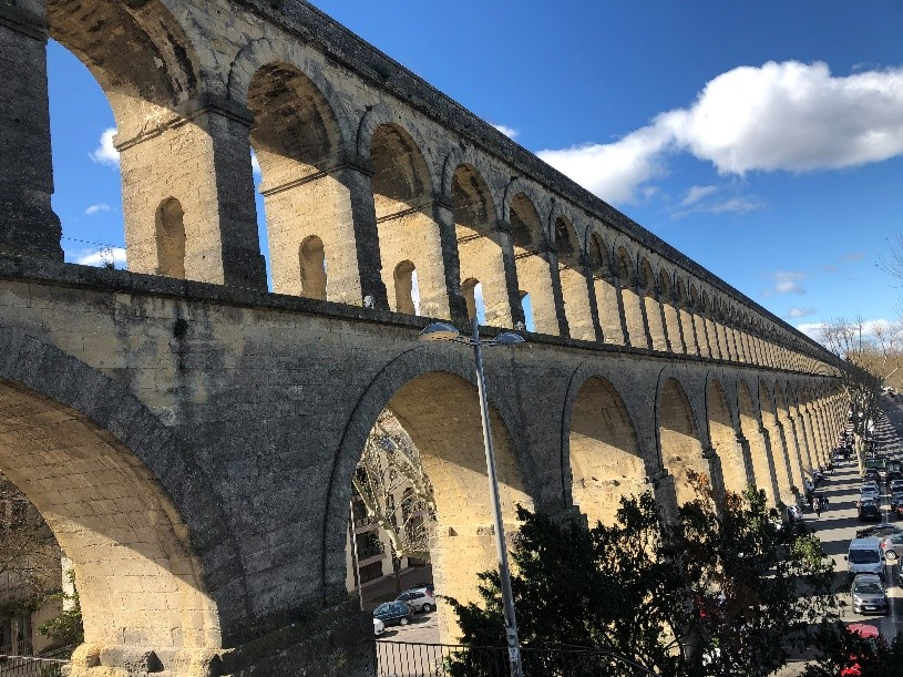 Montpellier Aqueduct by Pitot 2020